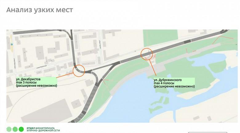 Схема движения четвертого моста в Красноярске фото 4