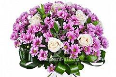 Акция службы доставки цветов Flowers-sib к Дню матери