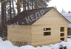 Строим из бруса! Дома, бани, гаражи и хоз. постройки.