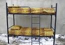 Купить кровать металлическую, кровать металлическая цена, кровати металлические двухъярусные для строителей фото 3