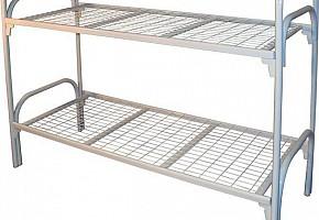 Кровать двухъярусная металлическая, армейские железные кровати оптом, детские металлические кровати