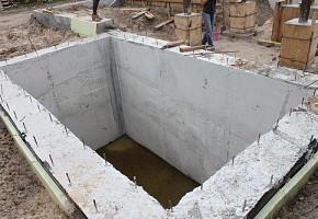Погреб строительство. Фундамент. Строительство гаражей