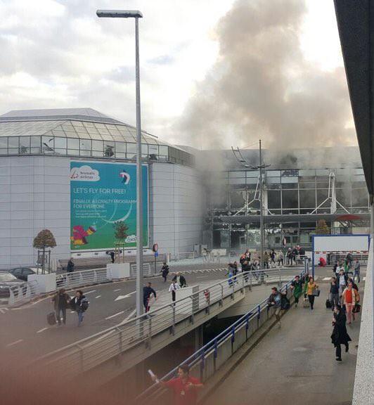 Взрыв а аэропорту