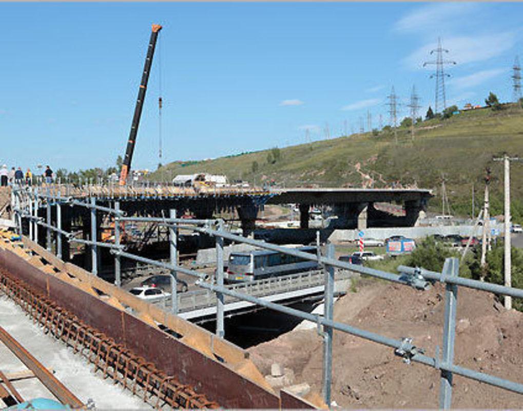 Закончить строительство развязки на 2-й Брянской планируют к ноябрю