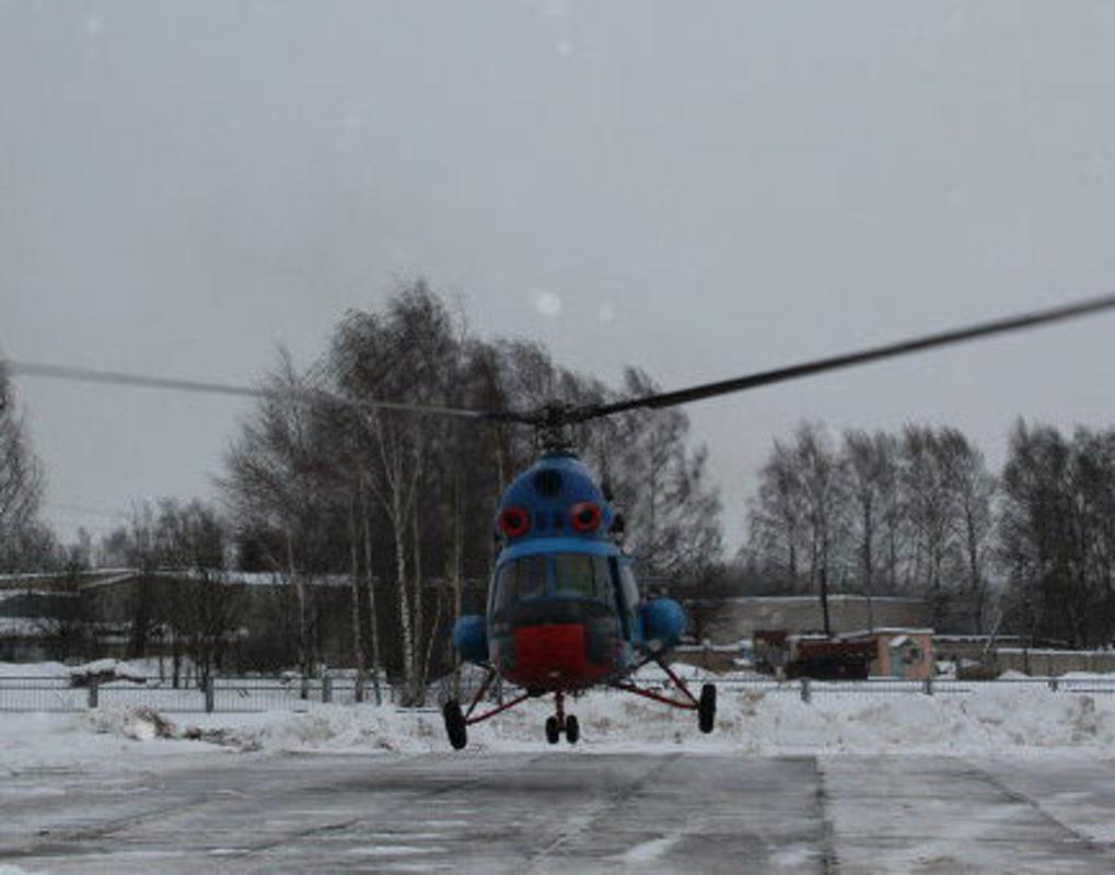 В Красноярске построят две вертолетные площадки для эвакуации больных