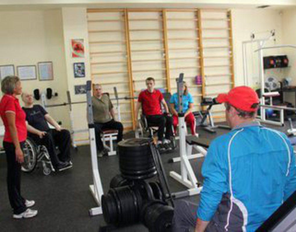 В Железнодорожном районе пенсионеры активно посещают спортивные залы