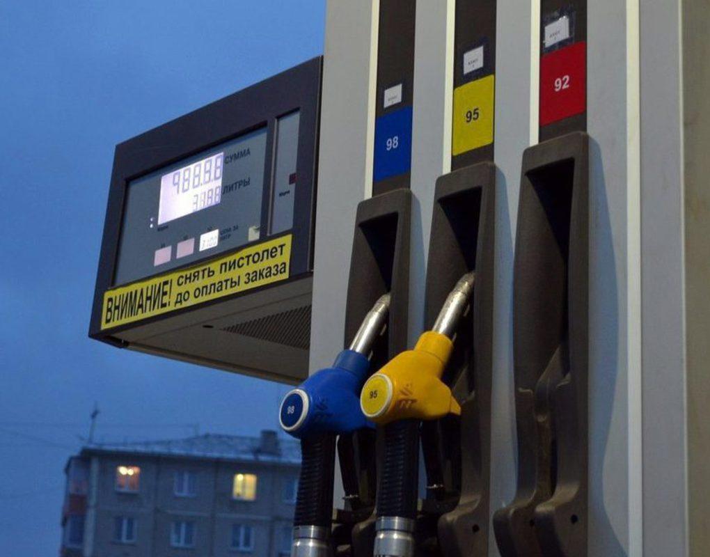 На красноярских заправках вновь выросли цены на бензин