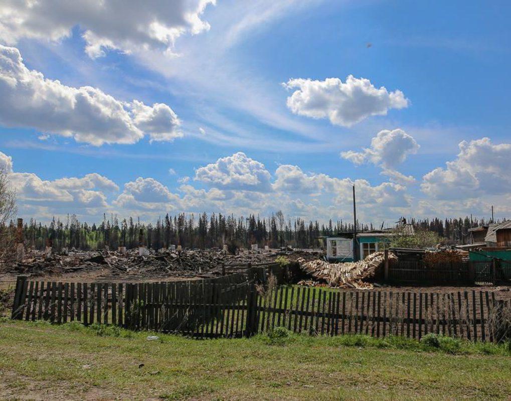 В Красноярском крае на жилье пострадавшим в пожарах выделят 350 млн рублей