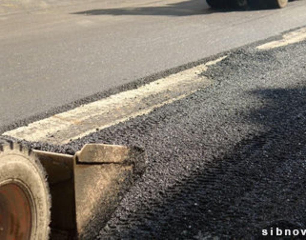 В Красноярске началось строительство дороги-дублера пр. Космомольского