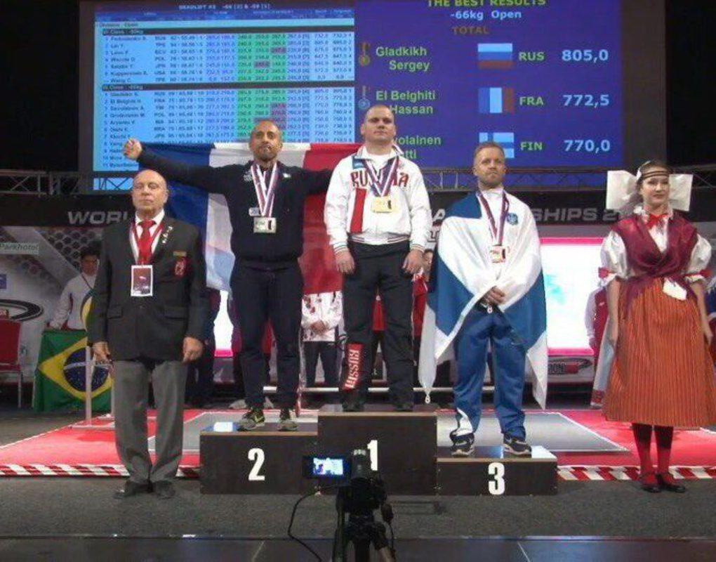 Красноярец стал шестикратным чемпионом мира по пауэрлифтингу