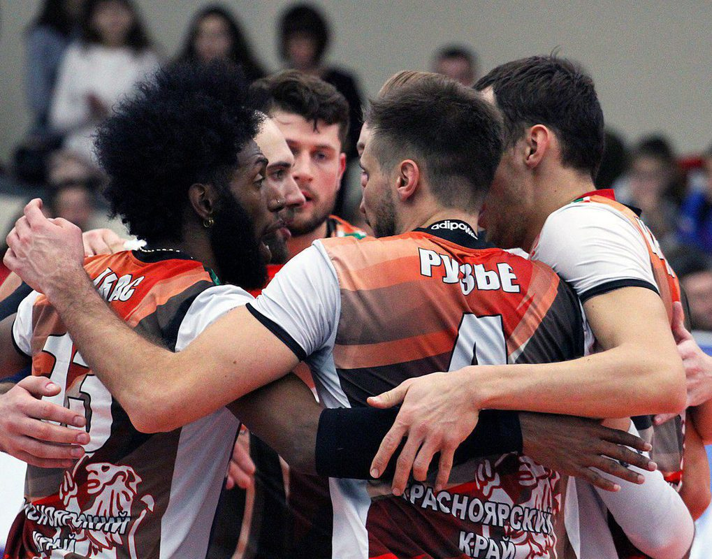 Волейбольный «Енисей» победил впервые с октября прошлого года