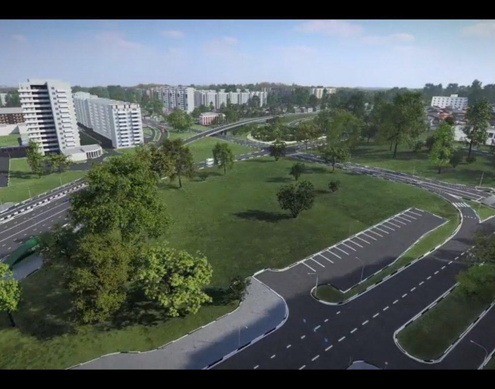Красноярцам показали будущую дорогу от четвертого моста до ул. Копылова