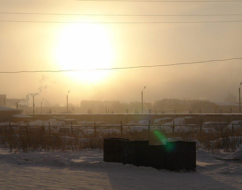 ВКрасноярске с 12 февраля действует режим «черного неба»