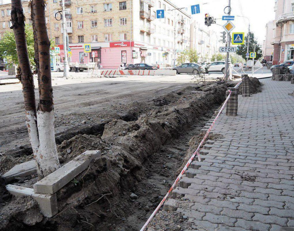 Власти Красноярска поддержали идею о возвращении парковочных карманов на пр. Мира