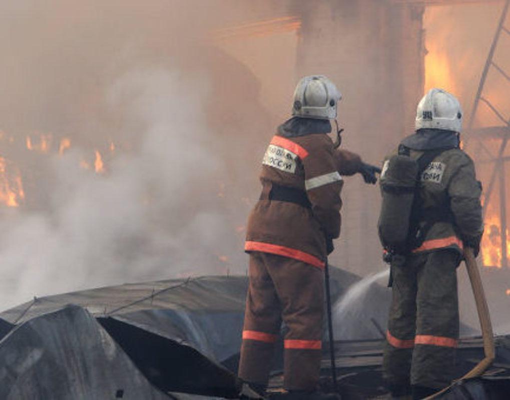 В Красноярске во время пожара погиб четырехлетний мальчик