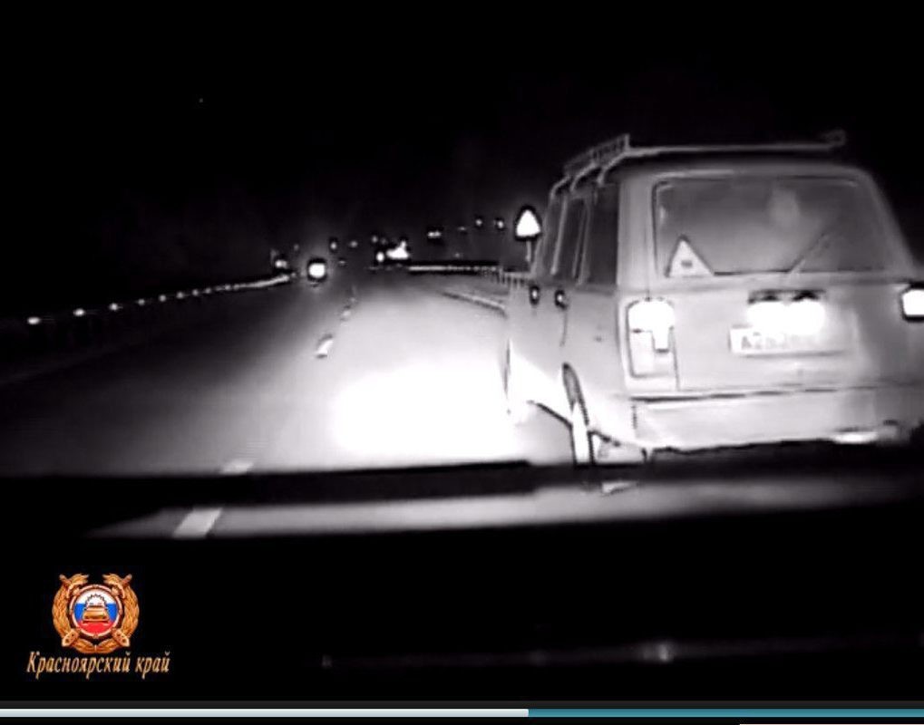 В Емельяново со стрельбой и погоней поймали водителя с наркотиками