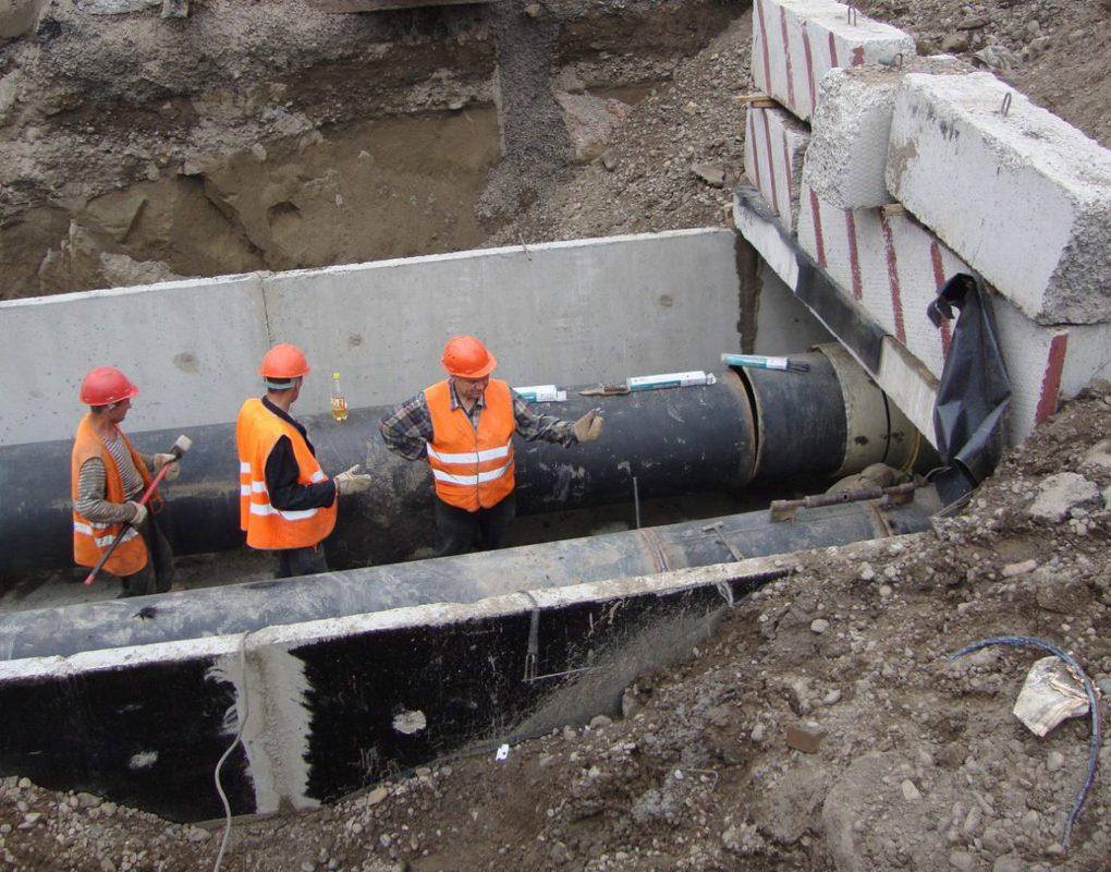 СГК завершила ремонт первых в этом сезоне участков теплосети в Красноярске