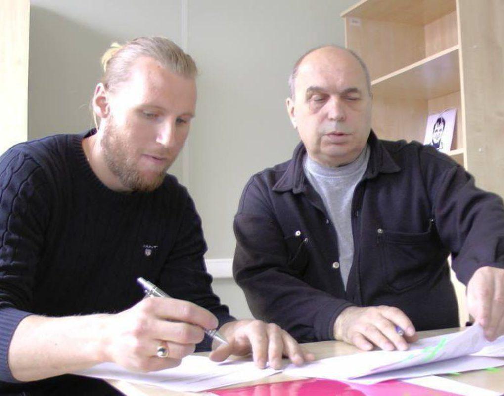 Хоккейный «Енисей» подписал победителя Кубка мира