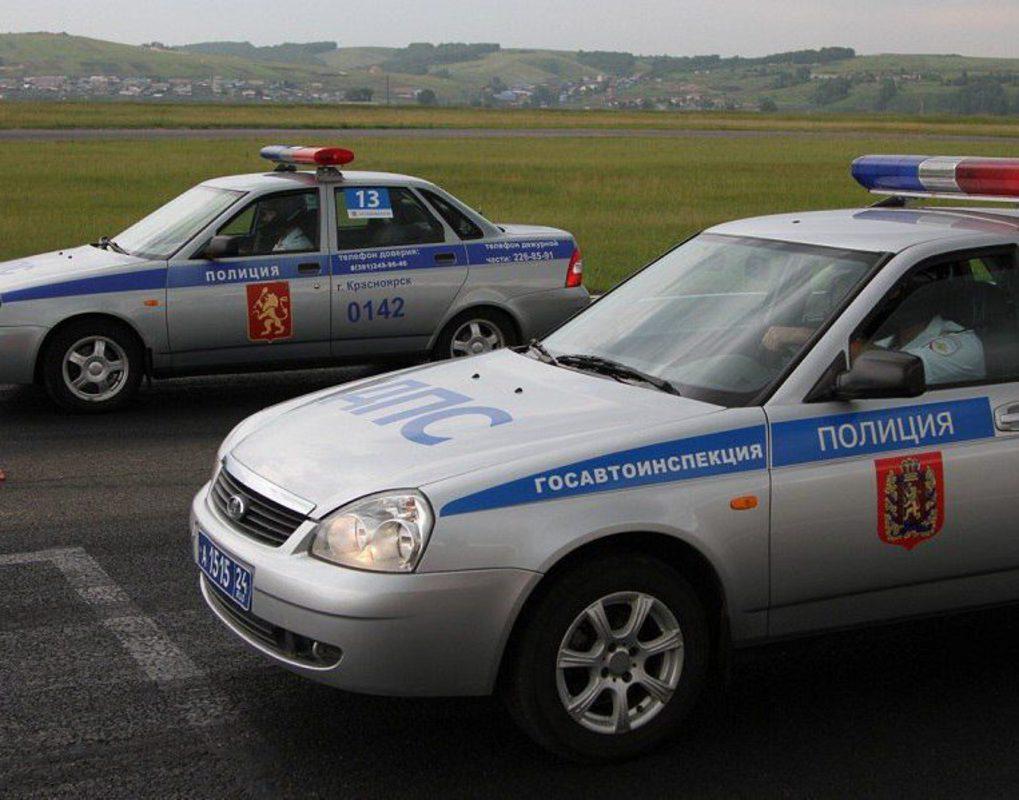 Красноярские полицейские устроят гонки на патрульных автомобилях