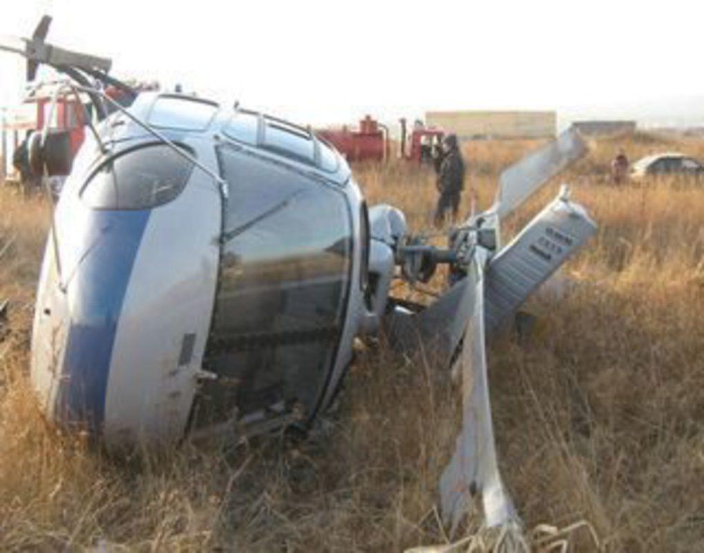 На Таймыре вертолет совершил аварийную посадку