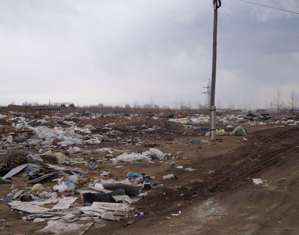 Канск оказался в числе самых замусоренных городов России