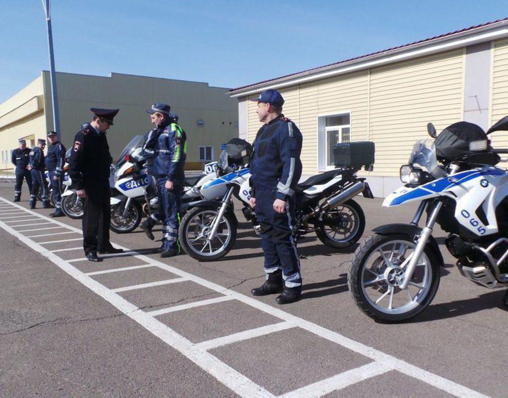 Красноярские полицейские устроят облаву на мотоциклистов
