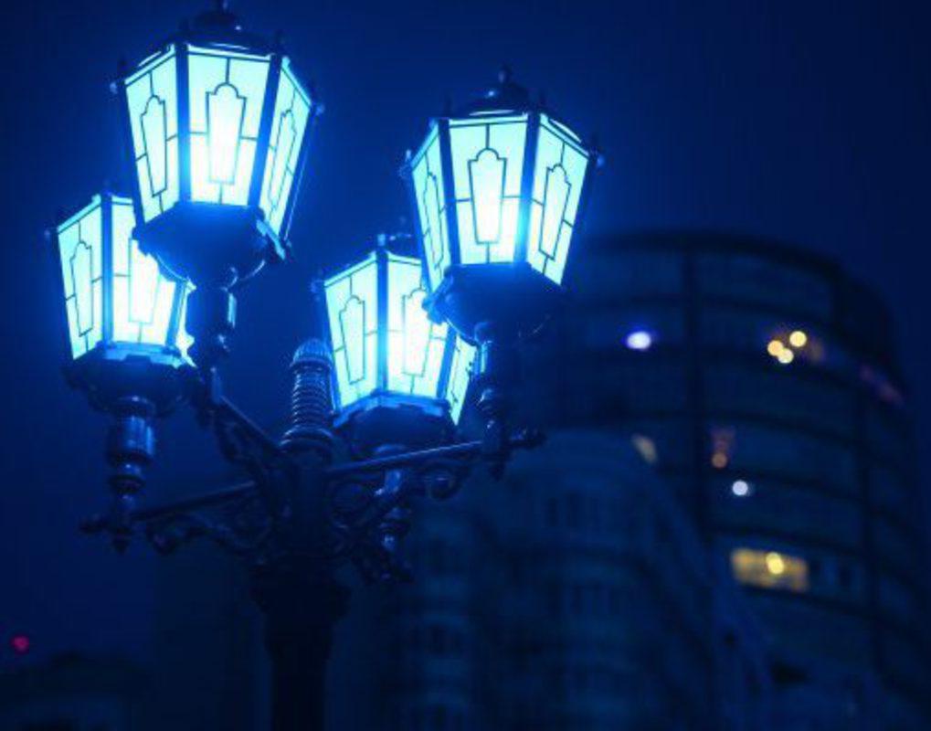 На фонари и иллюминацию в Красноярске выделили 417 млн рублей
