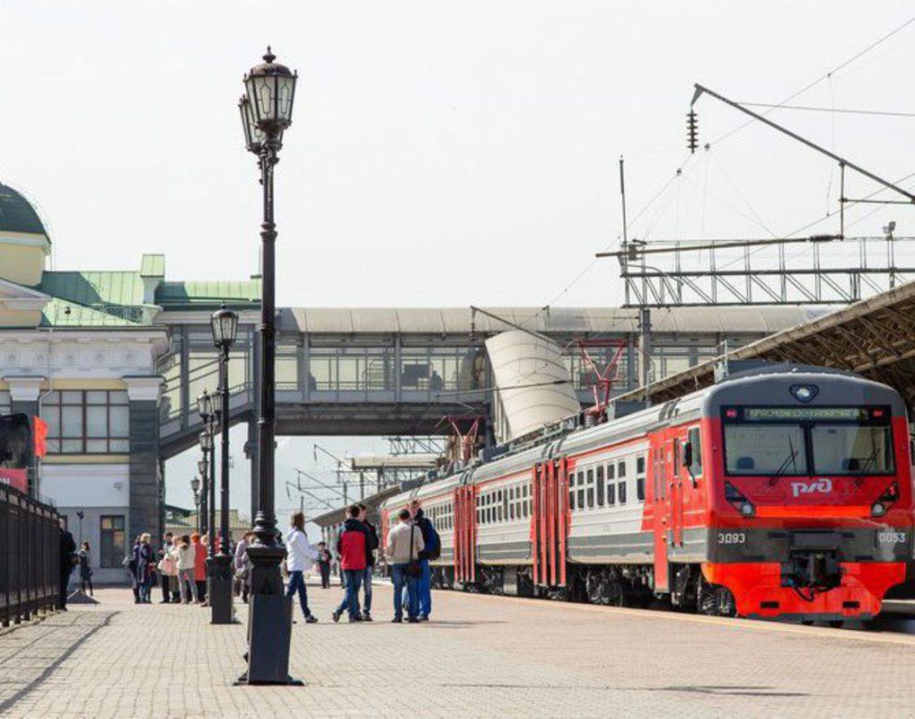 Красноярцам предложили прокатиться на экскурсионной электричке
