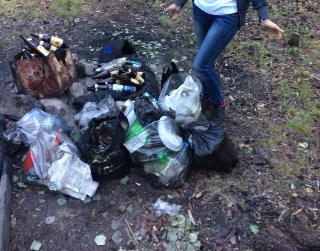 Волонтеры Богучанской ГЭС ликвидировали незаконную свалку