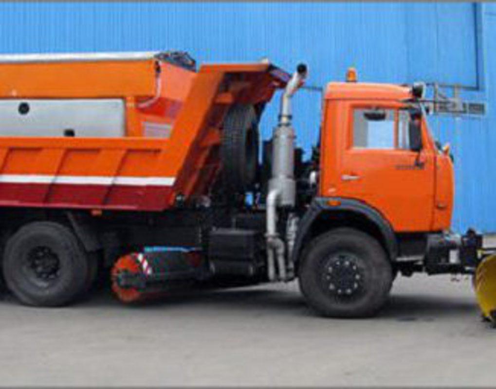 В Красноярск отправлена первая партия уборочной техники