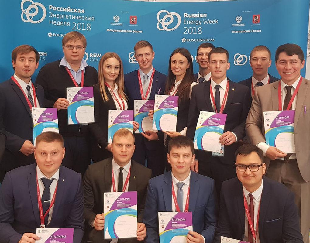Молодой специалист Ачинского НПЗ Александр Швецов стал участником «Российской энергетической недели» в Москве