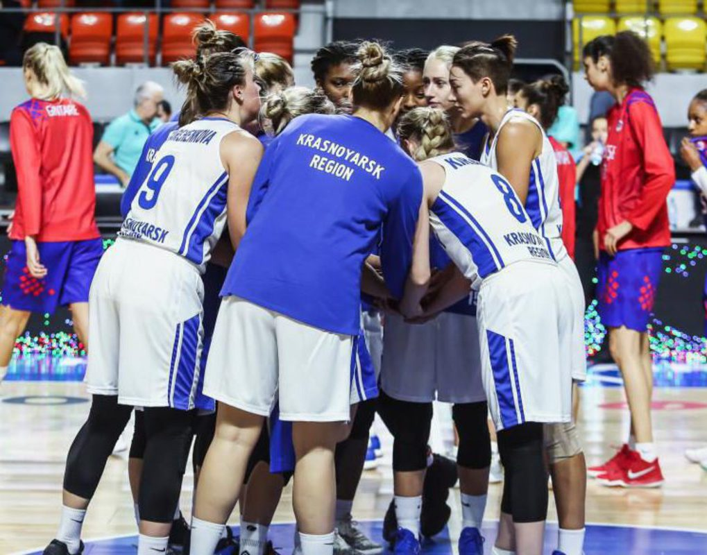 Баскетболистки «Енисея» переиграли турецкий «Орман» в матче Еврокубка ФИБА