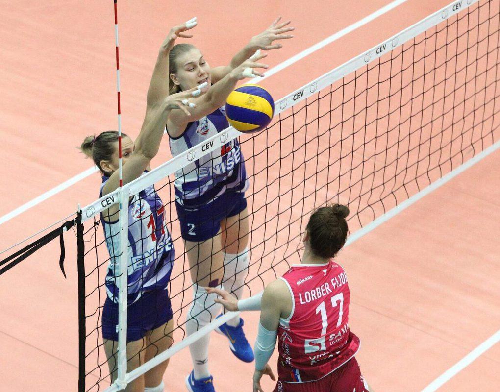 Волейболистки «Енисея» вышли в 1/8 финала Кубка Европейской конфедерации