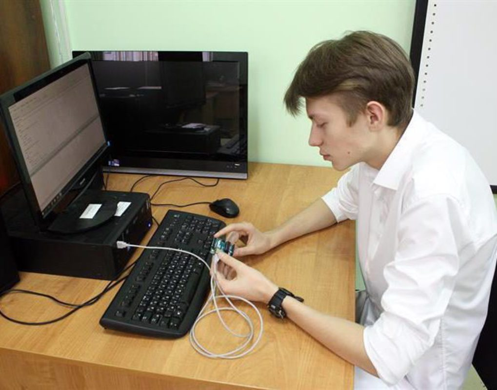 Красноярский школьник изобрел собственную метеостанцию