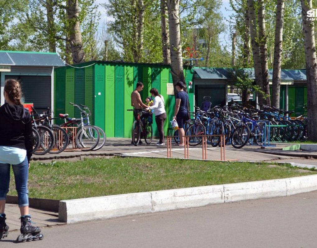 Мэрия отменила установку новых павильонов велопроката на острове Татышев