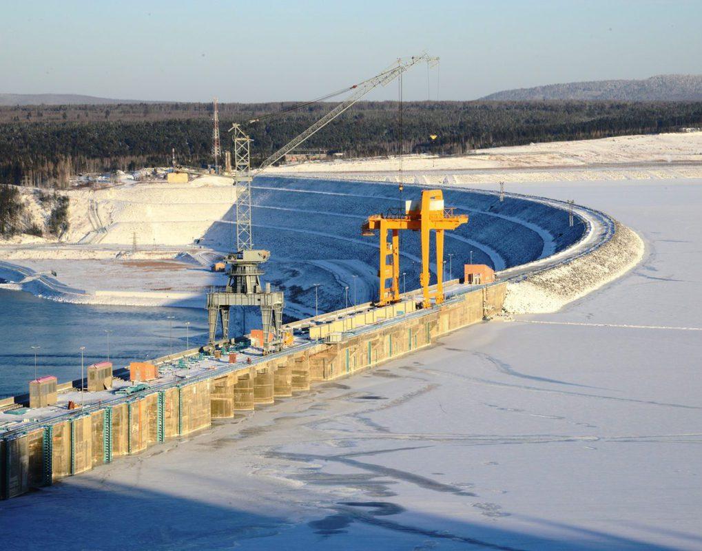 Богучанская ГЭС на треть увеличила производство электроэнергии в I квартале