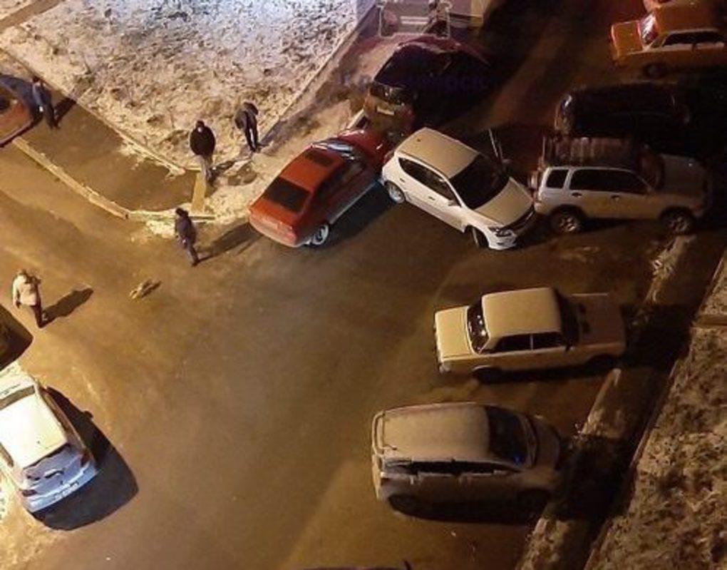 Из-за гололеда в Красноярске увеличилось количество аварий