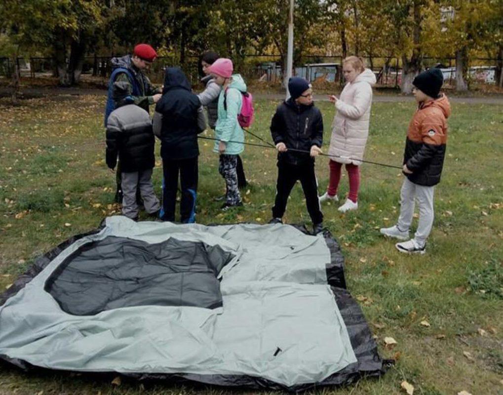 Красноярских школьников обучают выживанию