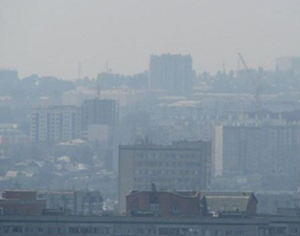 Красноярск оказался в топ-20 городов России с самым грязным воздухом