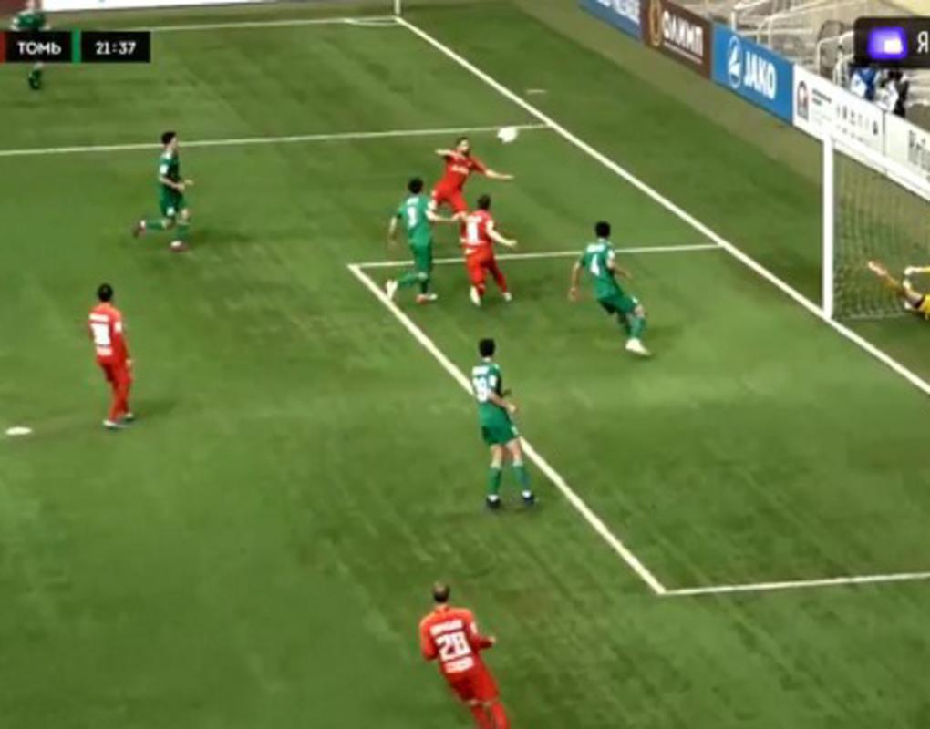 Футбольный «Енисей» разгромил «Томь» в сибирском дерби