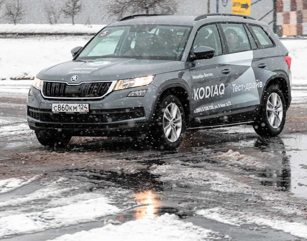 Красноярцам подарят комплект зимних шин при покупке ŠKODA KODIAQ