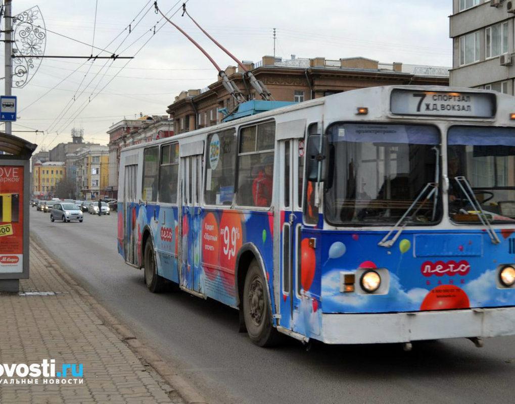 Троллейбус №7 в Красноярске превратится в экскурсионный