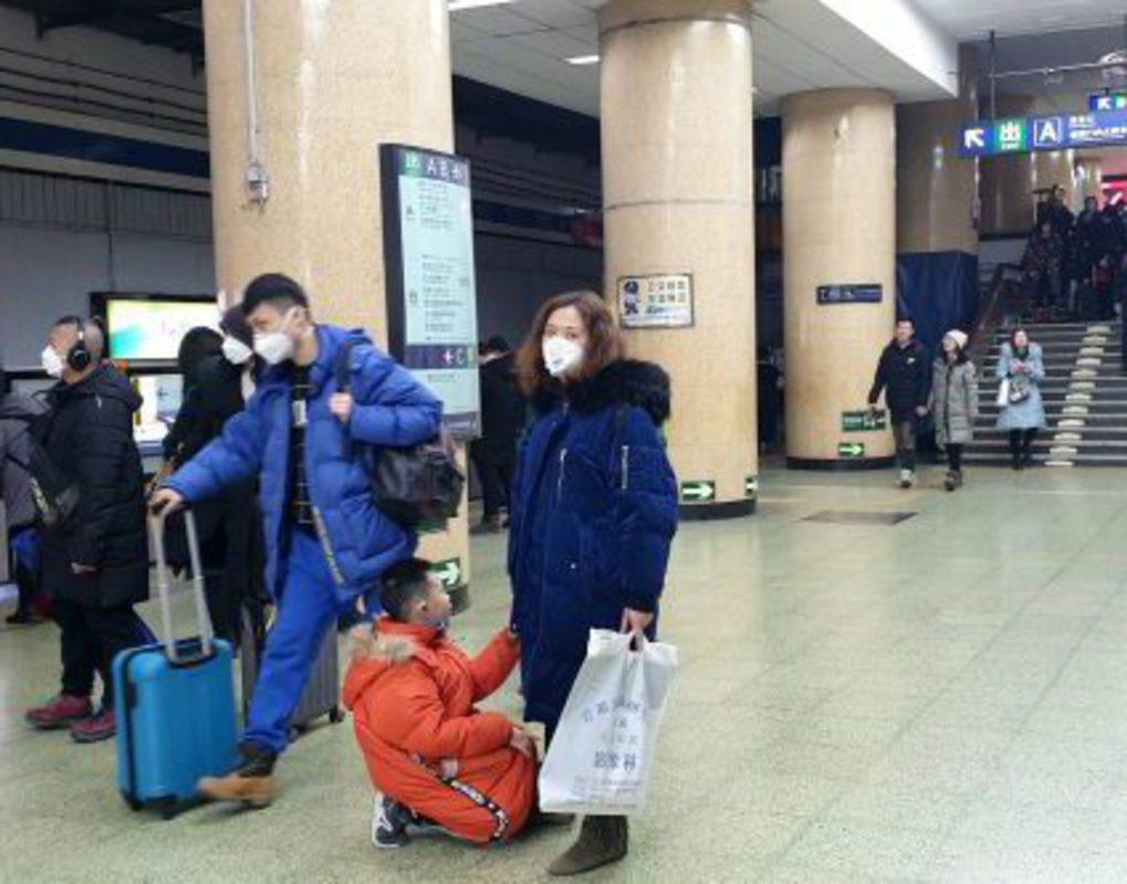 В аэропорту «Красноярск» усилили контроль за пассажирами из-за коронавируса