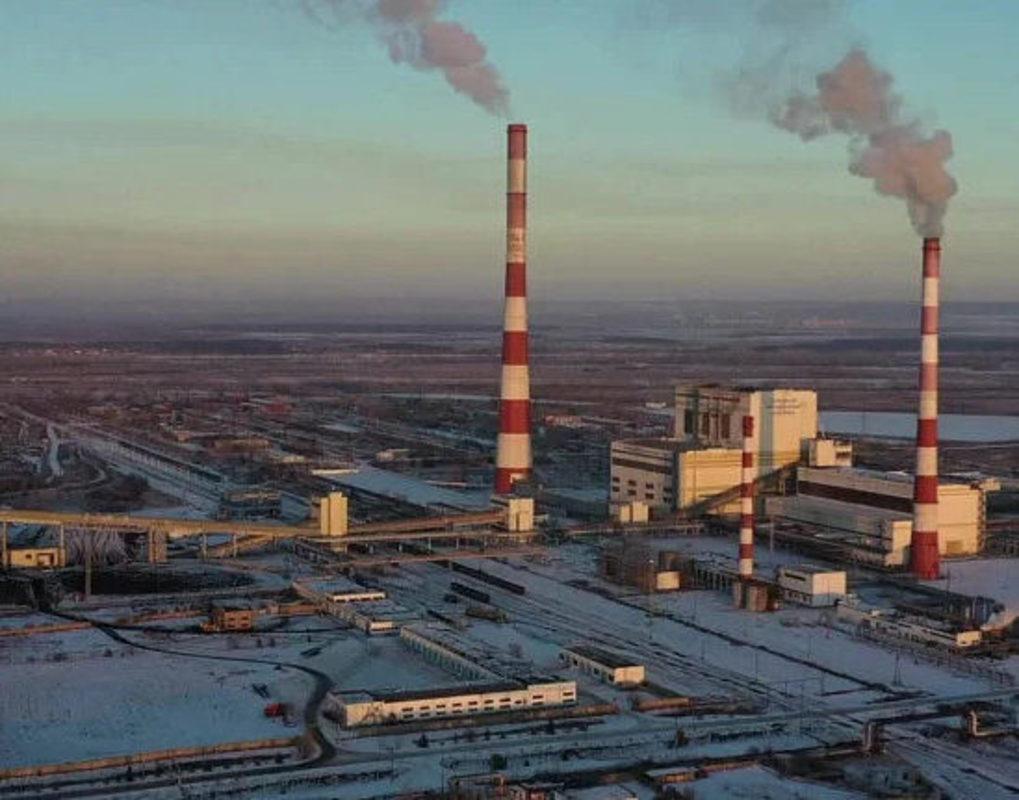 Сибирская генерирующая компания сняла ТЭЦ-3 с высоты птичьего полёта
