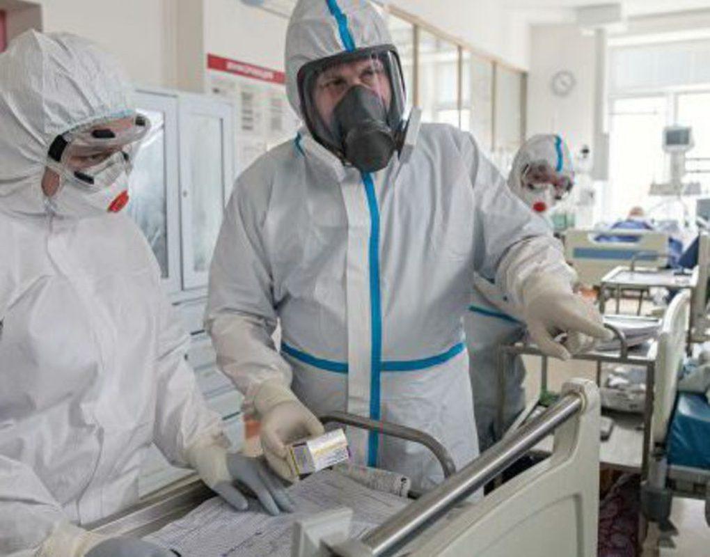 В Красноярске занято 90% подготовленных мест для коронавирусных больных