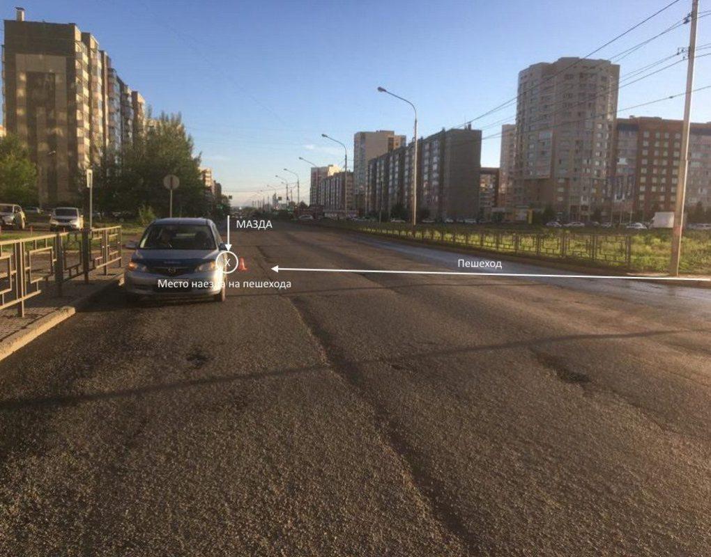 Четырехлетняя девочка угодила под колеса иномарки в Советском районе