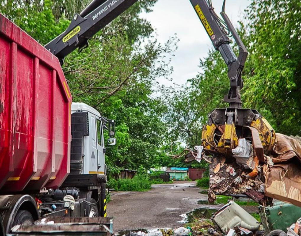 Советский район Красноярска избавили от четырех свалок
