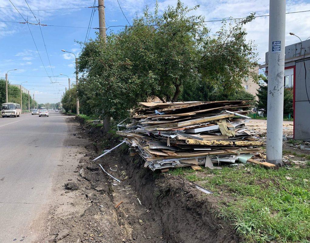 В Октябрьском районе 12 павильонов снесли за незаконную продажу алкоголя