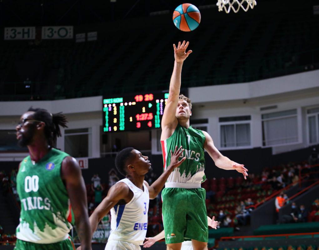 Баскетболисты «Енисея» проиграли в Казани