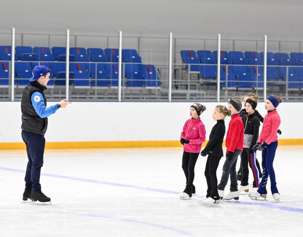В Красноярске создан Центр ледовых видов спорта для тренировок одаренных детей